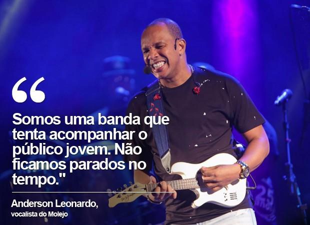 Anderson é vocalista do Molejo (Foto: Divulgação)