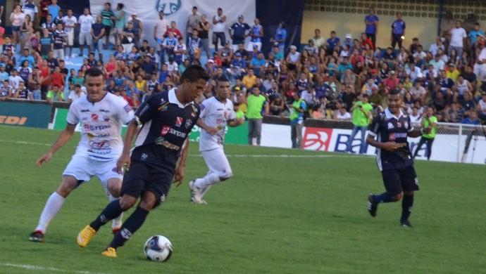 São Francisco foi campeão da Taça Estado do Pará domingo (24) quando venceu o Cametá por 3 a 0 (Foto: Dominique Cavaleiro/GloboEsporte.com)