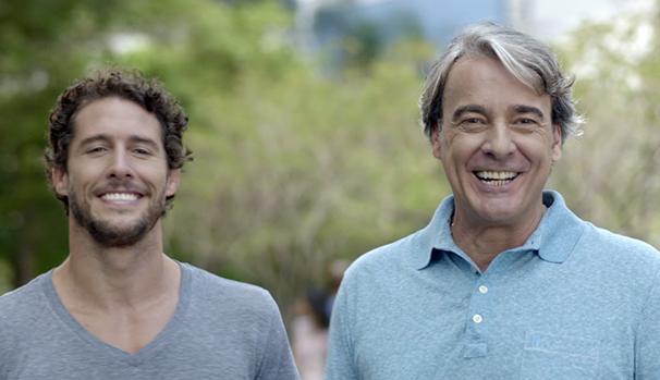 Filme compara situações de bem estar e qualidade de vida com conquistas esportivas (Foto: Globo)