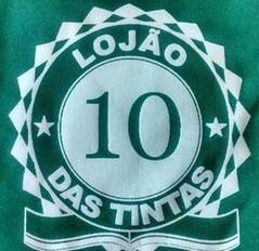Escudo Lojão das Tintas - Amador de Prudente (Foto: Divulgação)