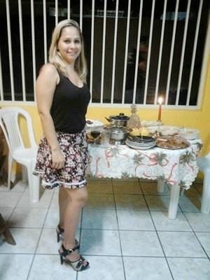 Há 10 anos, em Belém, Alexsandra era uma pessoa saudável e tinha uma vida normal (Foto: Karla Larissa/G1)