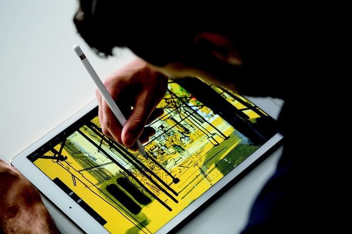 iPad Pro é um tablet voltado para designers e profissionais que mexem com criatividade (Foto: Reprodução/Apple) (Foto: iPad Pro é um tablet voltado para designers e profissionais que mexem com criatividade (Foto: Reprodução/Apple))