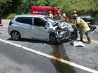 Mulher morre e quatro francesas se ferem em acidente em Angra dos Reis