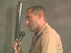 Ex-segurança de PC Farias, Josemar Faustino dos Santos (Foto: Reprodução/TV Gazeta)