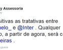 Inter de Milão libera Felipe Melo, que aguarda anúncio do Palmeiras