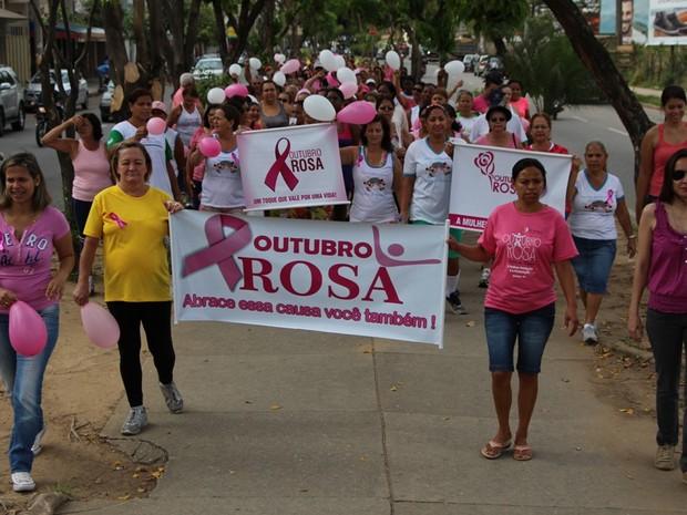 Outubro Rosa é realizado mundialmente  (Foto: Divulgação/PMI)