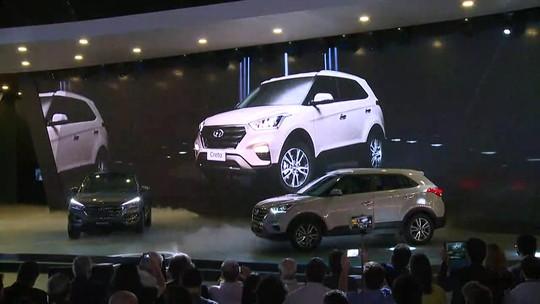 Hyundai Creta é lançado no Salão de São Paulo