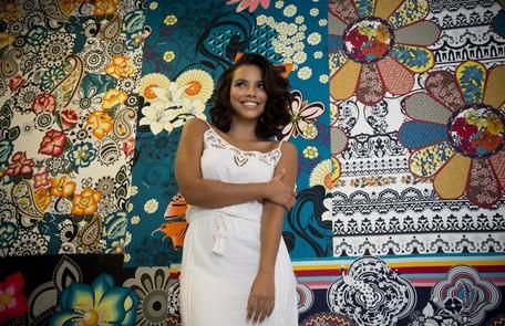 Gabriela Moreyra, protagonista da novela 'Escrava mãe', da Record, interpretará a escrava Juliana Marcia Foletto