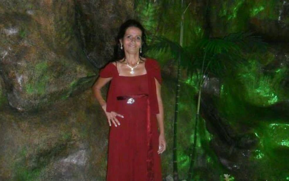 Marilene três meses antes de ser assassinada por Sailson (Foto: Arquivo Pessoal/Glauce Elen)