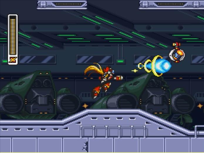 Mega Man X3 era possível jogar com o Zero (Foto: Reprodução / Mega Man Wiki)