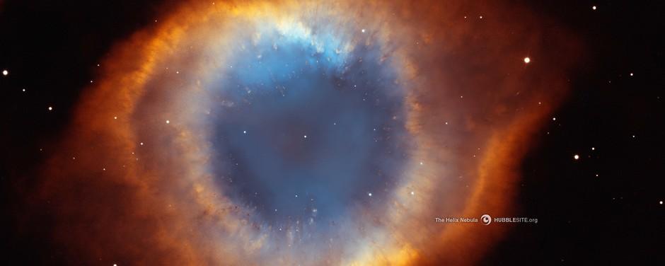 25 anos do Telescópio Espacial Hubble: A nebulosa de Hélix, a 650 anos luz de distância
