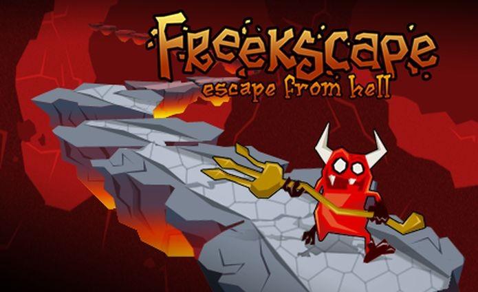O jogo Freekscape: Escape From Hell foi dos que Glauber Kotaki mais gostou de fazer (Foto: Divulgação)