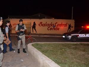 Homicidio conde (Foto: Walter Paparazzo/G1 PB)