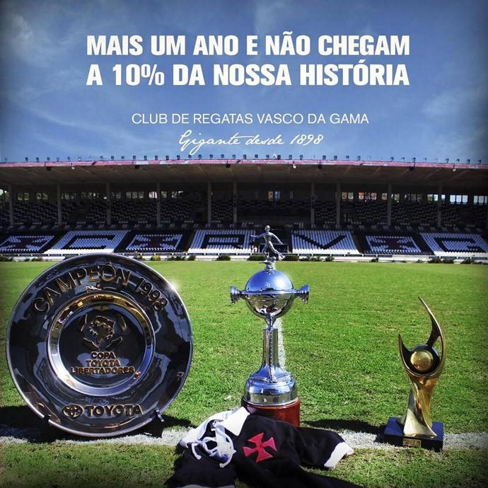 tuíte do Vasco (Foto: Reprodução / Twitter)