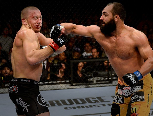 UFC Georges St-Pierre e Johny Hendrick (Foto: Agência Getty Images)