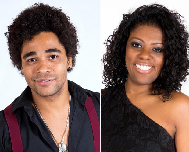Heverton Castro e Cecília Militão são alguns dos participantes que entram na brincadeira do site do The Voice Brasil (Foto: Isabella Pinheiro/TV Globo)