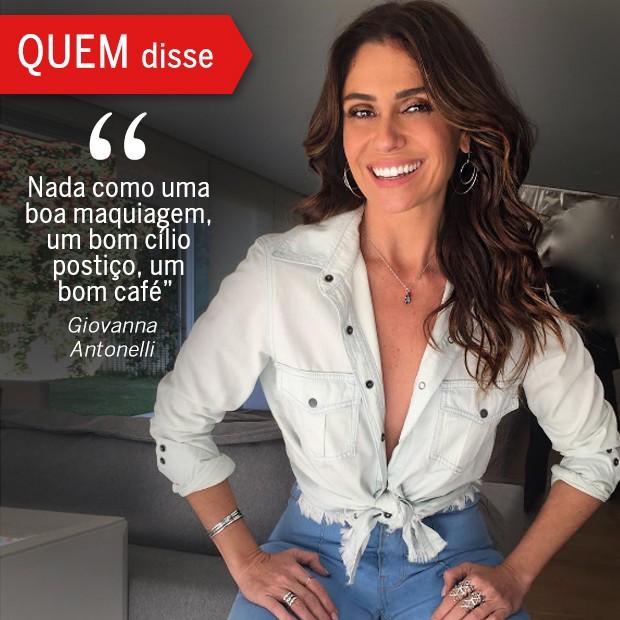 QUEM Disse: Giovanna Antonelli (Foto: Reprodução/ Revista QUEM)