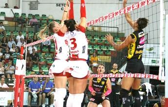 Vôlei Bauru e Praia Clube medem forças pela Copa Brasil feminina