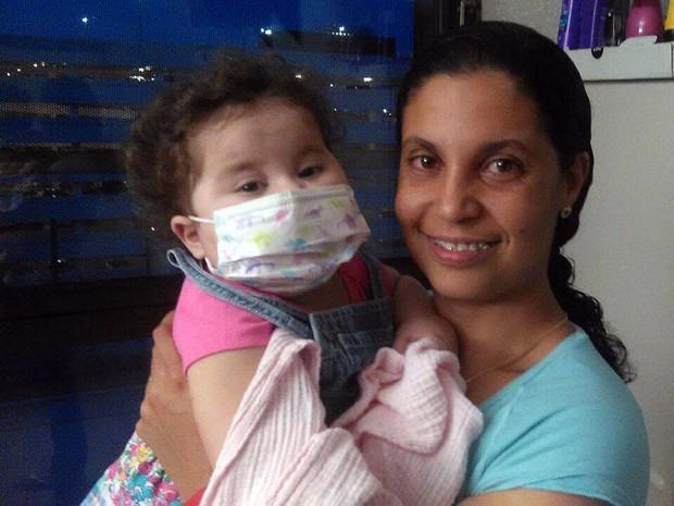 Sofia, Alessandra Marques Ribeiro, hospital, Miami (Foto: Reprodução/ Facebook)