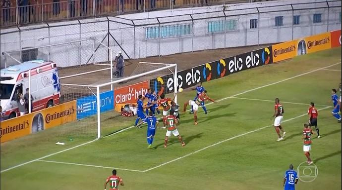 Parnahyba x Portuguesa (Foto: TV Globo )