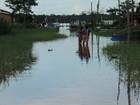 Nível do rio diminui em Ferreira Gomes (Divulgação/ Prefeitura de Ferreira Gomes)