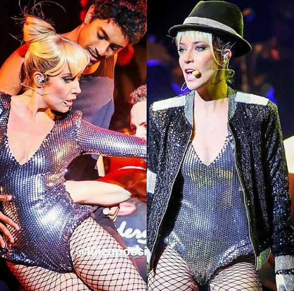 Luiza Possi no espetáculo Who's Bad (Foto: Reprodução/Instagram)