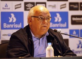 Romildo Bolzan, presidente do Grêmio (Foto: Rodrigo Rodrigues / Grêmio, DVG)