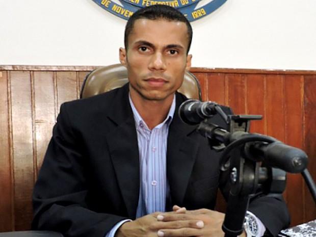 Vereador Luiz Thiago Silva Júnior, Juninho do Rap (Foto: Câmara de Presidente Epitácio/Divulgação)