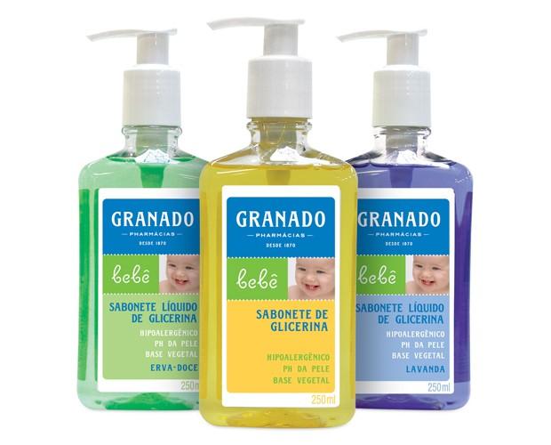 Sabonete Líquido de Glicerina: higieniza com suavidade (Foto: Divulgação)