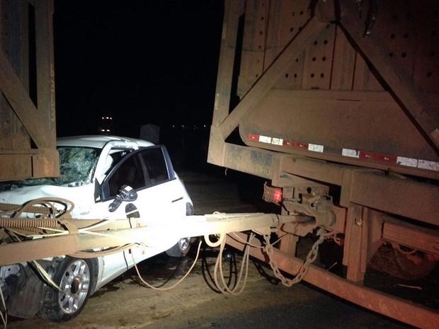 Ex-tenista morre após carro bater em caminhão carregado de cana em MT (Foto: Divulgação)