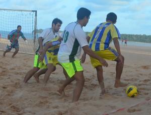 Moroni, bicampeão da Copa Verão de Futebol de Areia, em João Pessoa (Foto: Juliana Bandeira / GloboEsporte.com/pb)