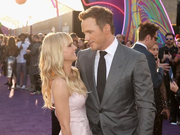 Chris Pratt e Anna Faris (Foto: Getty)