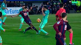 Busquets lesão Barcelona (Foto: Reprodução / Twitter)
