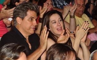 Edson Celulari e Claudia Raia (Foto: Roberto Teixeira/EGO)