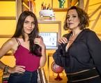 Ana Beatriz Nogueira e Rayssa Bratillieri em 'Malhação' | João Cotta/TV Globo