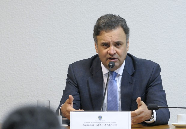 O senador Aécio Neves (PSDB-MG) (Foto: Pedro França/Agência Senado)