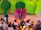 Izabel Goulart vira passista em encerramento da Olimpíada do Rio