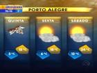 Com frio intenso, quinta-feira tem mínima de -3.7°C em Vacaria, RS
