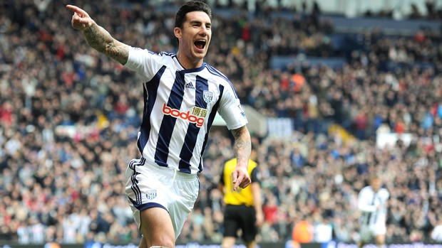Liam Ridgewell, jogador do West Brom (Foto: Getty Images)
