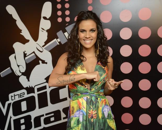 Ju Moraes (Foto: The Voice Brasil/TV Globo)