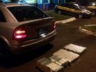 Motorista foge e abandona carro com 50 kg de maconha no oeste do Paraná