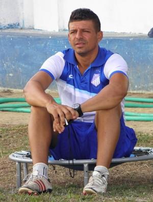 Kácio Mendes, técnico do São Mateus (Foto: Rian Matos/AA São Mateus)