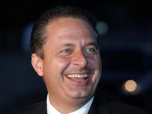 Em 22/04/2010, em Brasília, Eduardo Campos, quando era governador de Pernambuco, deixa reunião com o então presidente Lula (Foto: André Dusek/Estadão Conteúdo/Arquivo)