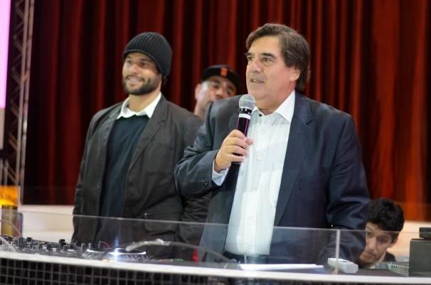 Ronaldo Ferrante em discurso de abertura do evento.  (Foto: Divulgação/Evandro Duarte)