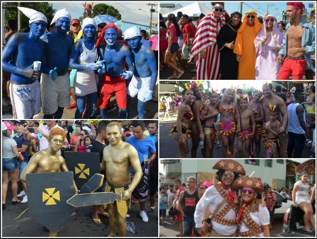 VC no G1, Fantasia, Carnaval, Macapá, Amapá (Foto: VC no G1)