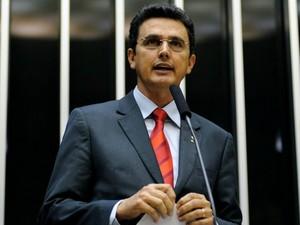 O deputado federal eleito Ságuas Moraes (PT). (Foto: Gustavo Lima / Câmara dos Deputados)