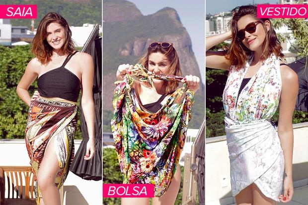 1adb8a75e392 Elisa Brites - Passo a passo 3 modelos para sua canga nesse verão (Foto: