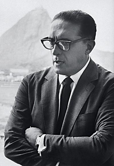 CONTROVERSO Lacerda, em janeiro de 1964, quando era governador  da Guanabara (Foto: John Loengard/Time Life Pictures/Getty Images)