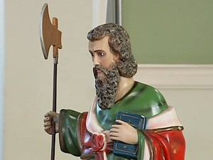 São Judas Tadeu Uberlândia Missa Celebração Igreja (Foto: Reprodução/TV Integração)