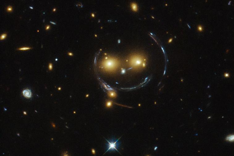 :-) (Foto: NASA/ESA)